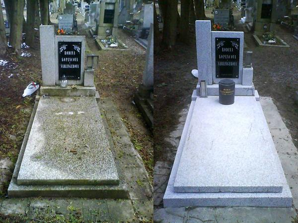 Renovace hrobů - 1